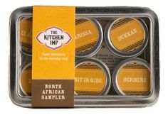 North African Spice Organic Sampler Gift Set