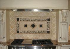 tuscan backsplash designs   Kitchen backsplash design