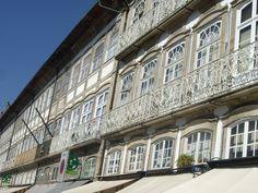 Windows in Guimaraes (Portugal).