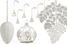 To create dimensions, make sure to play with materials and textures. Think about decorating with silver dust, light golden tones, white milk glass, bona china, snow-frost effects, pearls, beads, mirrors, fake fur, etc… Use any materials that enable you to achieve a sense of icy cold opulence.