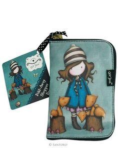2bef8056a5ef Gorjuss Folded shopping bags shoulder bags Santoro Toadstools Ladybird #Ad  , #spon, #