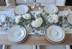 Elegant Valentine's Dinner Party Tablescape - Decor Gold Designs