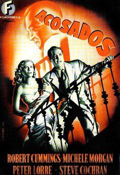 CARTELES DEL  CINEMA: ACOSADOS (The Chase, 1946), de Arthur Ripley