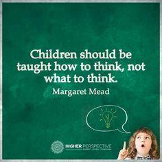 Imagen y frase explicativas de lo que perseguimos utilizando metodologías innovadoras: que el alumno piense por sí mismo.