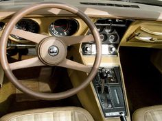 1976 Corvette Stingray interior
