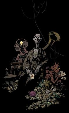 Another genius creation by Mike Mignola. - The Amazing Screw-On Head. It's a shame that this cartoon never went beyond the pilot.