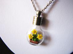 Daffodils - Miniature Origami by Paper-Peaches.deviantart.com