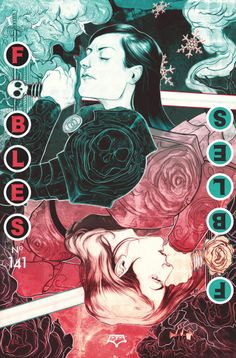 """FABLES #141 Written by BILL WILLINGHAM Art by MARK BUCKINGHAM and ANDREW PEPOY Backup story art by P. CRAIG RUSSELL Cover by NIMIT MALAVIA Resolicit • On sale JUNE 18 • 32 pg, FC, $2.99 US • MATURE READERS Retailers: This issue is resolicited. All previous orders are cancelled. """"HAPPILY EVER AFTER!"""" part 1. Good knight vs. bad knight. King Arthur vs. Morgan le Fay. Rose Red vs. Snow White. The two sisters are caught up in the roles Camelot has set for them, and now they're ready for battle."""