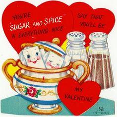 adorable vintage valentine.                                                                                                                                                                                 More