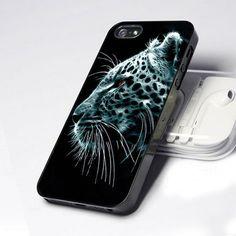 AA0066 Wild LEOPARD Head Animal design for iPhone 5 case