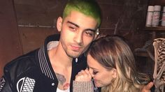 Zayn Malik has gone green!! Let's #LeoVote on this: Fave is you LOVE Retweet if you HATE