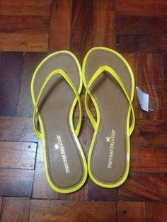 1f56addae418 Php495.00 yellow slippers from Payless Shoe Source Philippines Yellow  Slippers