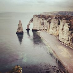 Nice little beach where Monet's The Cliffs at Etretat comes to life.