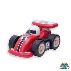 Mini racing car - ¡Que empiece la carrera! Con el mini coche de carreras los niños podrán disfrutar de la velocidad y el diseño moderno del mismo. Vamos! Tú eres el ganador.