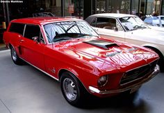 1967 Mustang Wagon-cool grocery getter