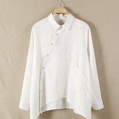 Line Women Long Sleeve Shirt