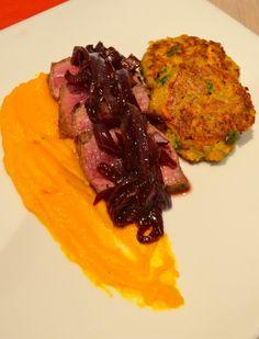 Biefstuk met Pompoen Beef and Pumpkin #food