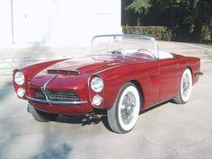 Pegaso Z-102 Cabriolet Serra (1959) Top Sports Cars, Classic Sports Cars, Sport Cars, Classic Cars, Vintage Cars, Antique Cars, Automobile, Hispano Suiza, 50s Cars