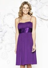 Bridesmaid TIE BACK CHIFFON DRESS @ HARTS