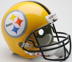 Pittsburgh Steelers 1962 Full Size Replica Throwback Helmet 75th Anniversary - Sports Integrity