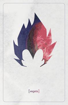 Dragonball Z Minimalist posters on Behance http://amzn.to/2rVRWSM