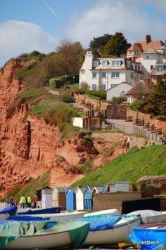 Budleigh Salterton, Devon, UK - one of mum's favourite places for a walk and an ice cream Devon England, Devon Uk, South Devon, Devon And Cornwall, Budleigh Salterton, Devon Coast, Jurassic Coast, Slow Travel, English Countryside