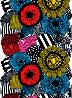 i love marimekko. simple finnish design at its best.