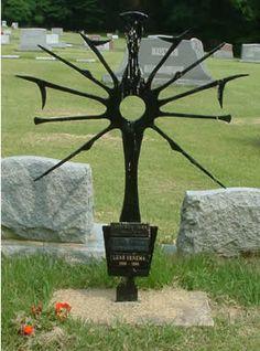 Very unique gravestone