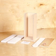 Vertical Wood Mold: Made with the same care and craftsmanship as our wildly popular Baltic Birch Molds, these exquisite molds are