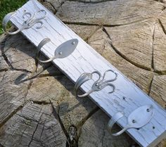 Shabby Chic Silver Spoons