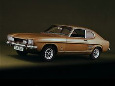 Ford Capri - This was my first NEW car purchase back in 1972 (mine was British Racing Green)