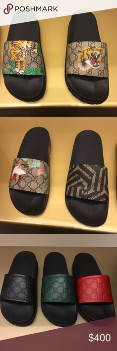 Gucci Flip Flops bape supreme cdg Every color ever size in every style Gucci Shoes Sandals & Flip-Flops #flipflops