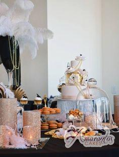 Gatsby Dessert Table