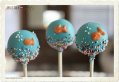 cute Fish cake pops