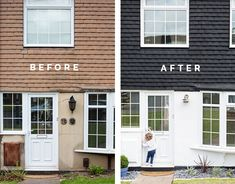 Home Entrance before & After | @fallfordiy