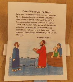 Peter Pop-up Book | Bible Songs And More