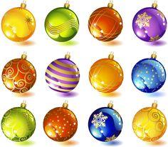 christmas-tree-glass-ball-ornaments-vector