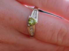 my engagement ring! Class Ring, Engagement Rings, Green, Jewelry, Enagement Rings, Wedding Rings, Jewlery, Jewerly, Schmuck