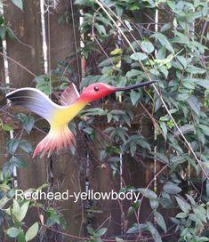 Vuelan aves colibrí de PVC por dadelight en Etsy
