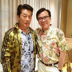 Yasauki Kurata & David Chiang!