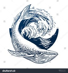hippie tattoo 379357968612396363 - Image vectorielle de stock de Hand Drawn Blue Whale Vector Round 680770444 Source by Gravure Illustration, Engraving Illustration, Hai Tattoos, Symbol Tattoos, Travel Symbols, Whale Art, Blue Whale Drawing, Big Sea, Ink Art