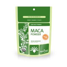 Navitas Naturals Organic Raw Maca Powder, 1 Pound Pouches. It is a complex, nutrient-dense whole food that is a good source of vitamins, amino acids, plant sterols, essential minerals, and essential fatty acids. Navitas Naturals Raw Maca Powder has a nutty butterscotch flavor that blends well in a variety of recipes.