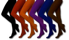 How To Wear Colored Tights - Tips For Wearing Colored Tights