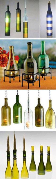Beautiful Bottle Crafts | DIY & Crafts Tutorials