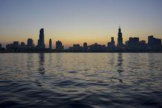 New free stock photo of sea city sky - Stock Photo