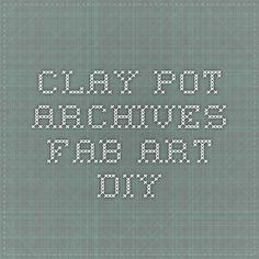 clay pot Archives - Fab Art DIY