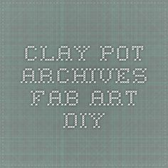 clay pot Archives - Fab Art DIY