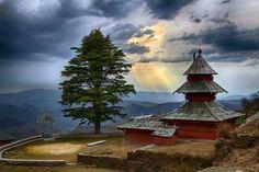 Adi Brahma Temple at Tihri, Utarsal, Mandi, Himachal Pradesh, BHARAT (India)