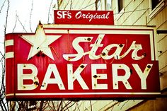 The old Star Bakery, no bakery but the sign still remains...# san francisco