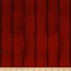 Colors of Fall Wood Red from @fabricdotcom Designed by Stephanie Marrott for Wilmington, this cotton print fabric features planks of wood for a textured look. Perfect for quilting, apparel and home decor accents. Colors include black and shades of red.